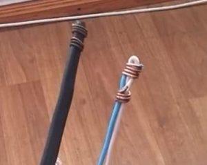 кипятильник из отрезка провода