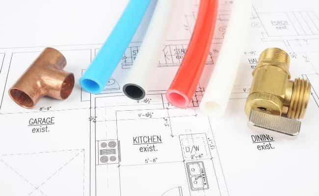 чертеж трубопровода