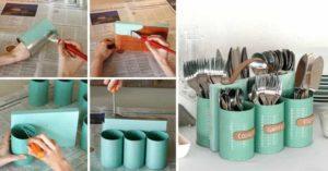 изготовление подставки для кухонных приборов