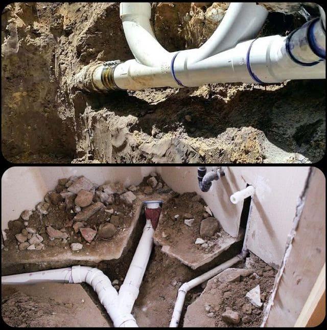 наружная и внутренняя канализация