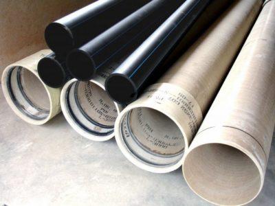 Трубы разного диаметра, из разного материала