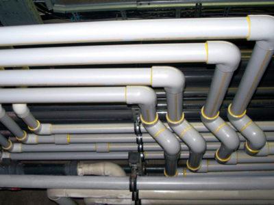 ПВХ-трубопровод