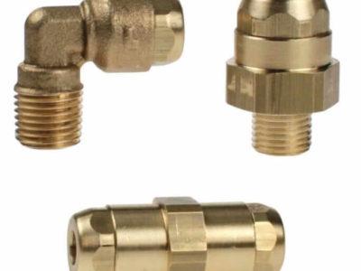 Резьбовые и цанговые фитинги для металлопластика