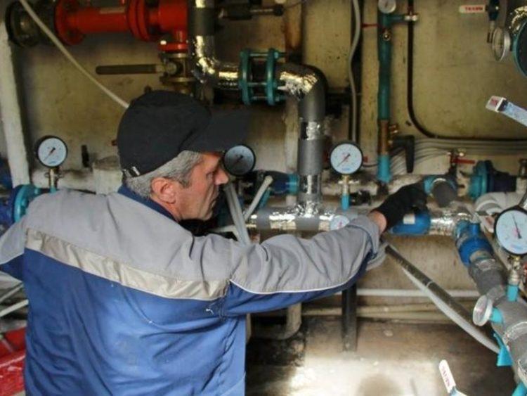 давление в городской водопроводной сети
