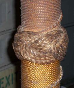 отделка веревкой