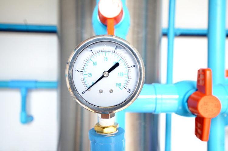 давление в водопроводе