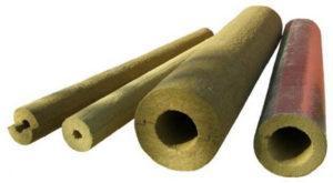 базальтовая вата в цилиндрах