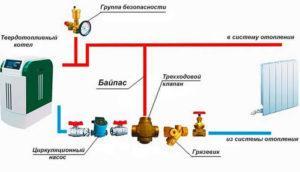 Пример схемы монтажа