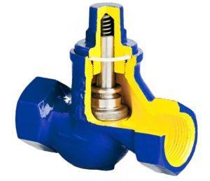 Обратный клапан для канализации подъемного типа