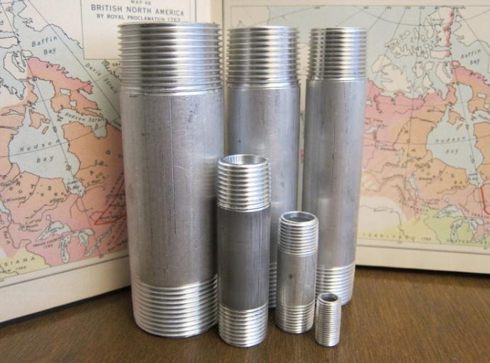 Различные диаметры сгонов для труб