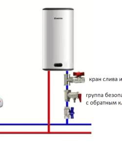 Обвязка электробойлера