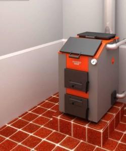 Пример установки котельного агрегата