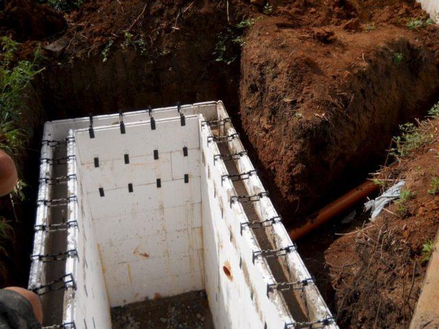 Заливка бетоном выгребной ямы для туалета на даче
