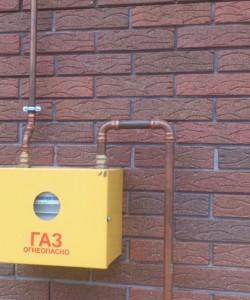 Пример медного газапровода