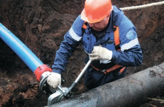 Осуществление работы по подключению к водопроводу под давлением