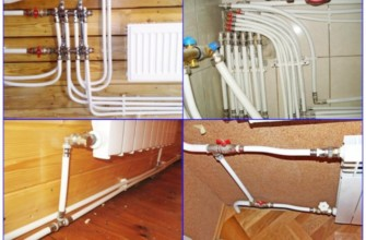 Примеры металлопластиковых труб в системе отопления